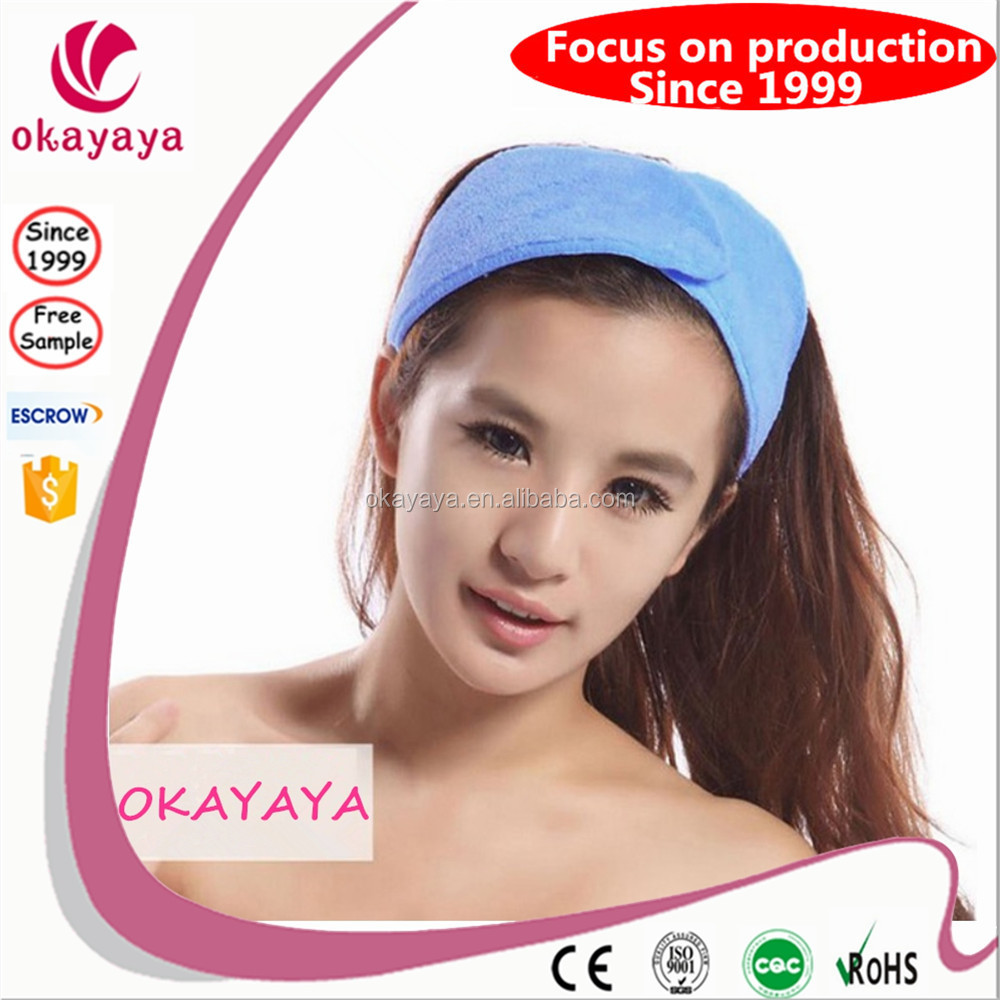 New hot products customized spa headband private label