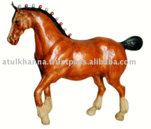 Leather Horse, Leather Animals Toys , Leather Pet Animals