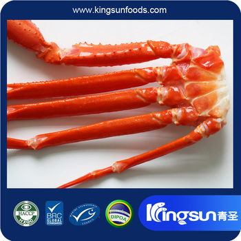 Great Color & Quality New Arrival Frozen Red Snow Crab Cluster