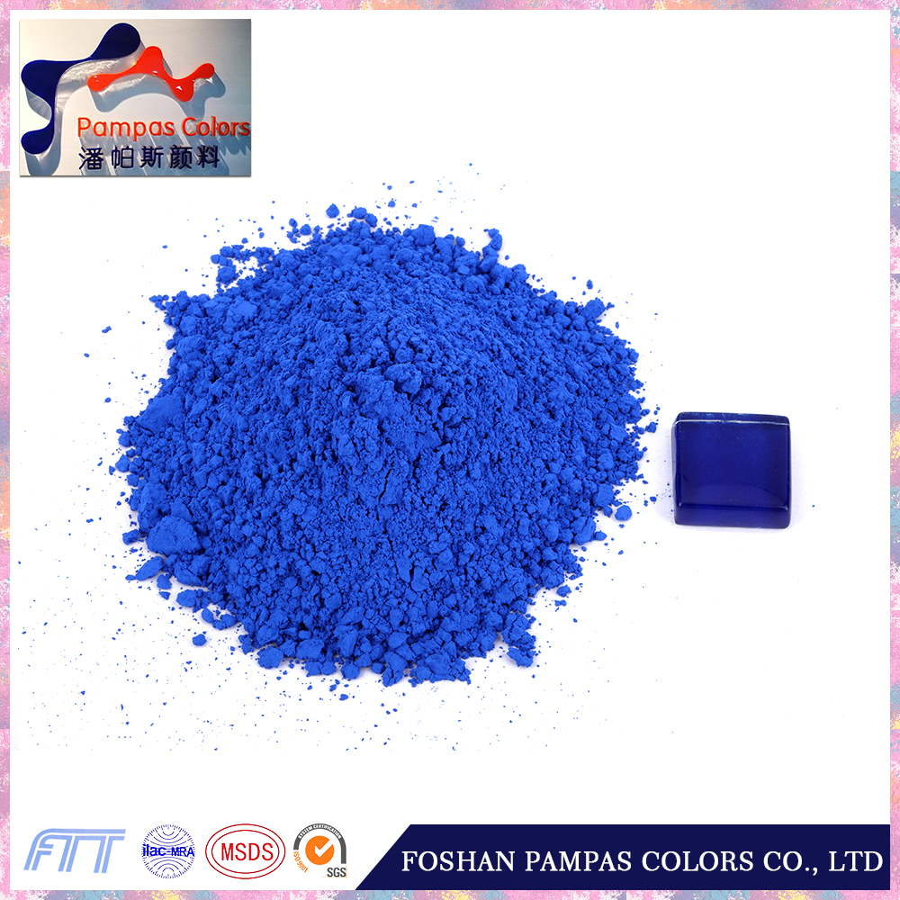 SGS Certified blue enamel pigment for Glaze