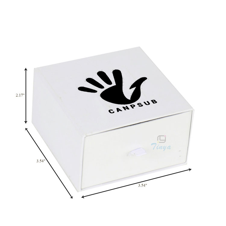 Electronic packaging big white gloss boxes