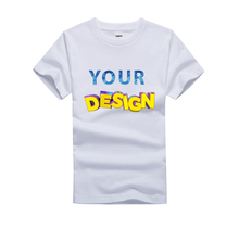 OEM Promotional Custom Sublimation T-shirts Custom Logo Cheap Tee Top High Quality