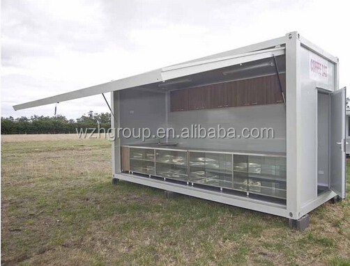 container coffee shop/container store/mobile shop container house