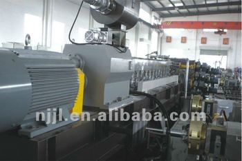 PP/PE twin screw extruder sheet extrusion line