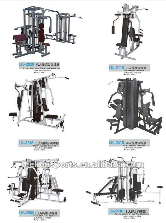 extensão da perna de fitness boot camp equipamentos