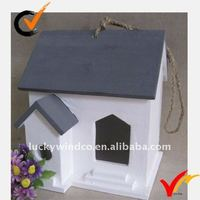 miniature decorative painting wooden craft bird house