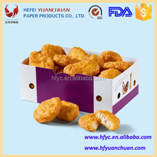 Custom fried chicken packaging box for fast food