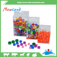 NL621 wholesale colorful Plastic Poultry chicken/pigeon bird leg rings