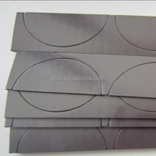 Strong custom die cut Flexible Isotropic rubber magnets with self adhesive