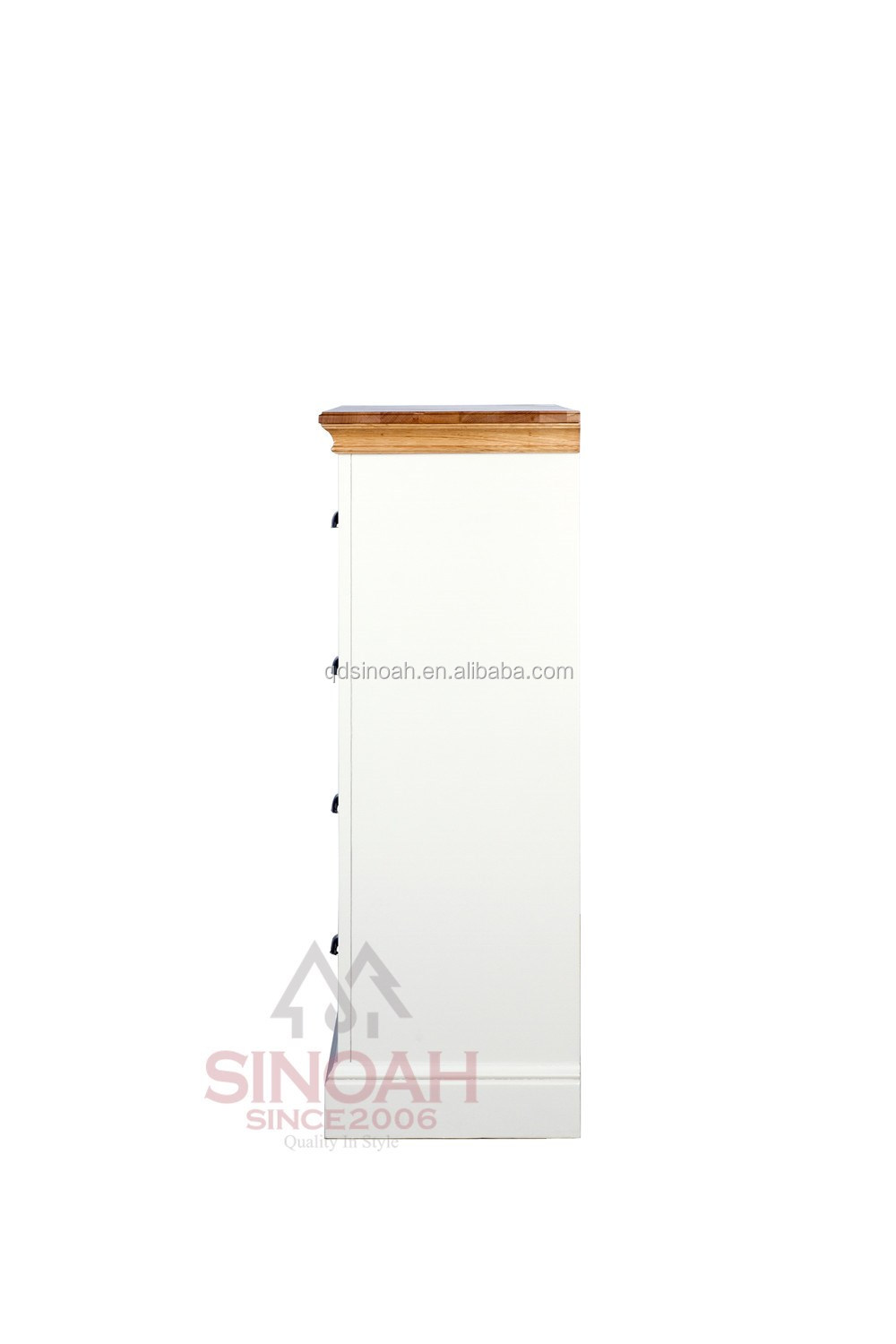 Pine painted cabinet 2016 new design Qingdao supplier