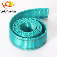 Factory custom TPU coated reflective nylon webbing for dog leash