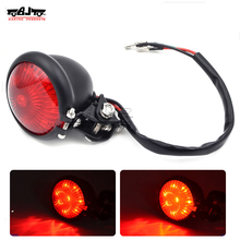 BJ-LPL-073 Custom Motorcycle LED Brake Stop Signal Tail Light for Harley Sportster Bobber Chopper