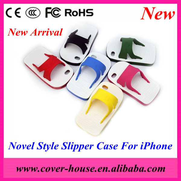 Soft Silicone Slipper Case for iPhone 5