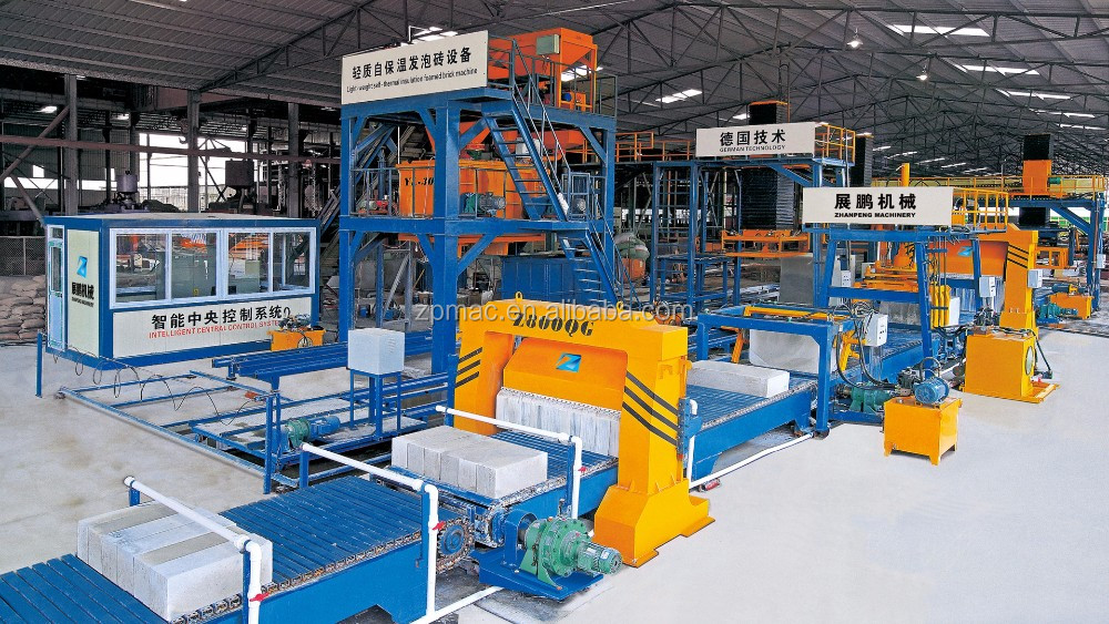 High Efficiency paver foam brick making machine production line in Netherlands