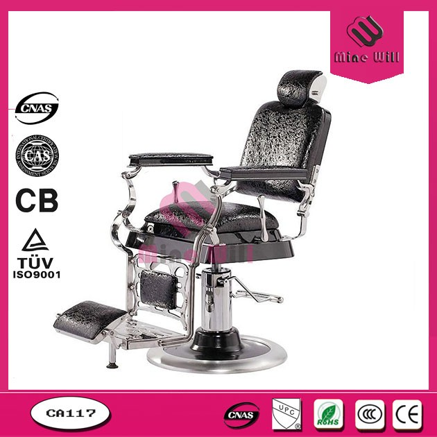 Black leather Hot sale barber chair for hair salon