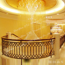 newest fancy modern hotel project crystal chandeliers for danmark from china ETL82061