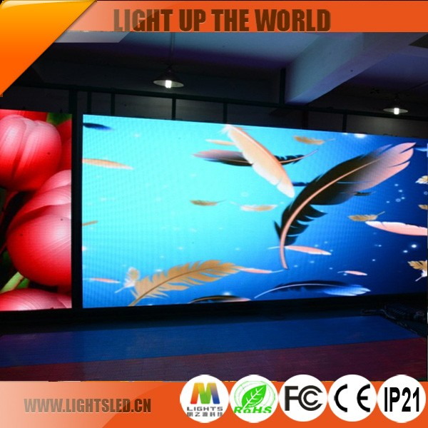 p6 indoor led display cabinet case,led display control card/controller