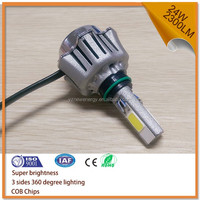 100lm/w h4 motorcycle most powerful led light dc/ac 12v