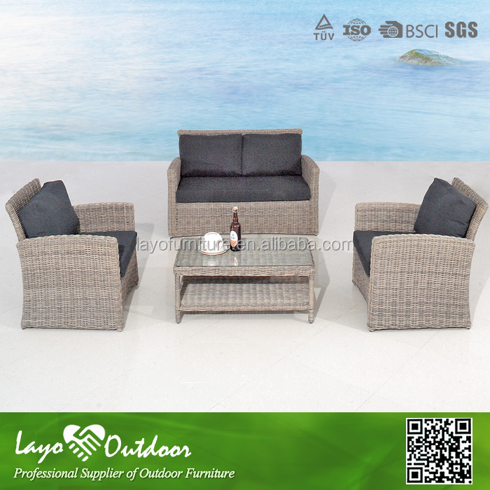 ISO9001 certification europe popular style rattan furniture uk