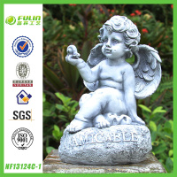 Resin Nude Cherub Figurine for Wholesale