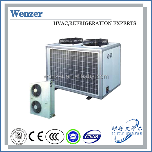 Air Cooled Condensing Unit / Bitzer Condensing Unit (JZQ Box Type Series) for Cold, Freezer and Quick Freezing Storage Rooms