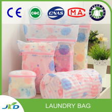 Wholesale Pop And Fold Heavy Duty Cotton Mesh Laundry Bag