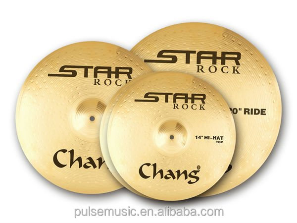 Chang Star Rock Series Brass Cymbal Set-ST-RG Set
