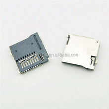 Push-Push Type TransFlash TF Micro SD Card Socket Adapter Automatic PCB Connector