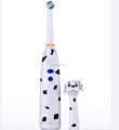 Children toothbrush head cover Battery power operated electric toothbrush with lovely dog cap