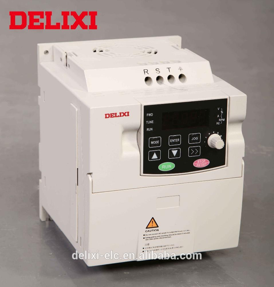 CE Certificated Vector Control 220v/380v single phase vfd power variable frequency electric inverter