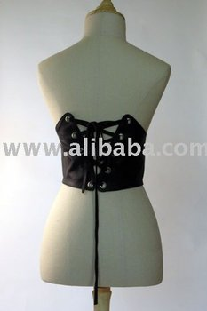 Leather Corset Belts
