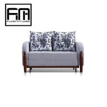 CM3026 Oak solid wood frame furniture pictures of sofa cum bed