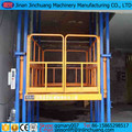 hydraulic freight lift vertical platform cargo elevator for warehouse