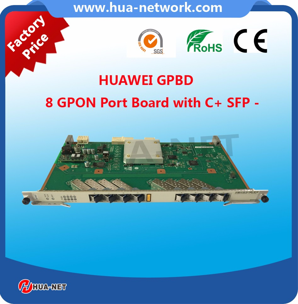 gepon onu price india MA5608T Board Huawei 8 PON Port GPON Board GPBD with C+ SFP Suitable for MA5680T