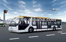 Picking up 120 passengers bus and airport large bus airport bus