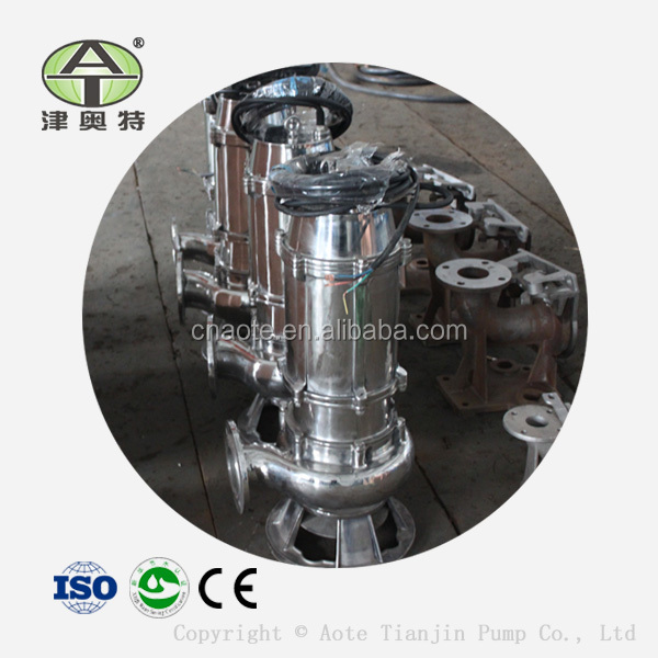 Sewage Pump Manufacturer Stainless Steel Centrifugal Submersible Pump