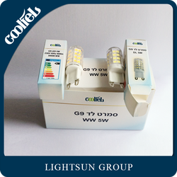 Wholesale Factory CE RoHS Approved High CRI And Efficiency LED G9 Bulb Replacement 5W Halogen With 2 Years Warranty