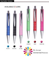 Xinghao brand Customized pen with logo promotional dot metal ballpoint pen