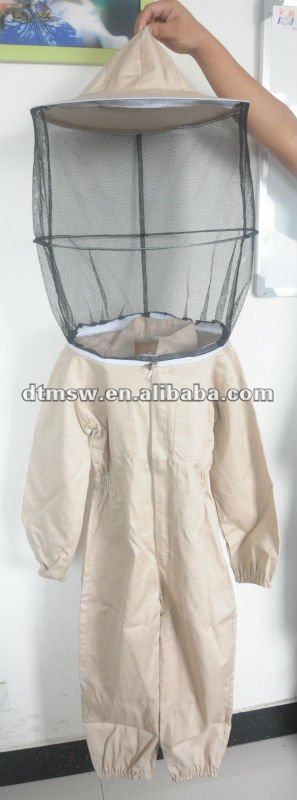 100% cotton beekeeping suit with plus size