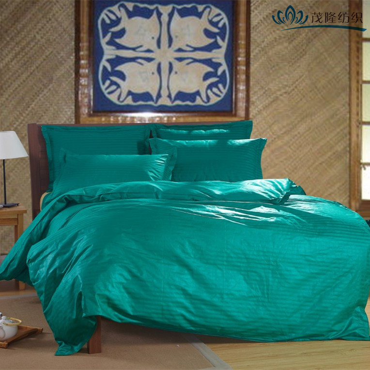Top-selling cotton/polyester plain new bed sheet designs