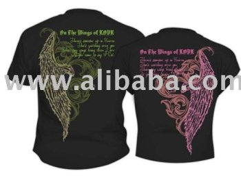 On The WIng of Love-Couple T-Shirt
