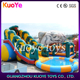 slide inflatable with pool,water slide for children and adults,tall inflatable water slide