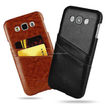 For Samsung galaxy E7 Creative card slot leather cell phone case