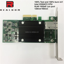 Manufactory director10GBE Intel 82599 network card, PCIE lan card with RJ45 port