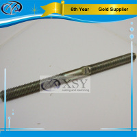 China oem machining anti rust coating steel threaded rod