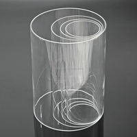 Acrylic thin tube, PMMA thin tube, Plexiglass thin tube