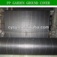 Great Plastic PP Weed Mat Weed Control Cloth , Mulch Weed Mat Fabric Plastic Roll , Anti UV PP / Woven Weed Mat Ground Cover