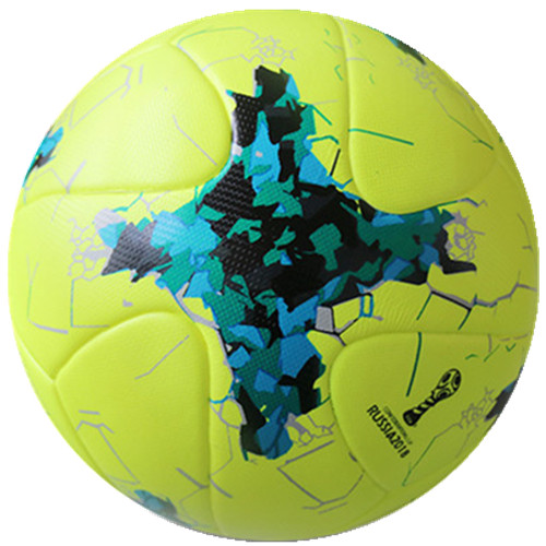 Seamless TPU leather laminated offical weight football soccer size 5 4 3 school trainging ball