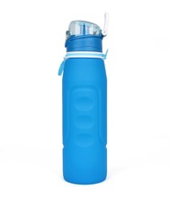 most safety silicone material 1L collapsable cup