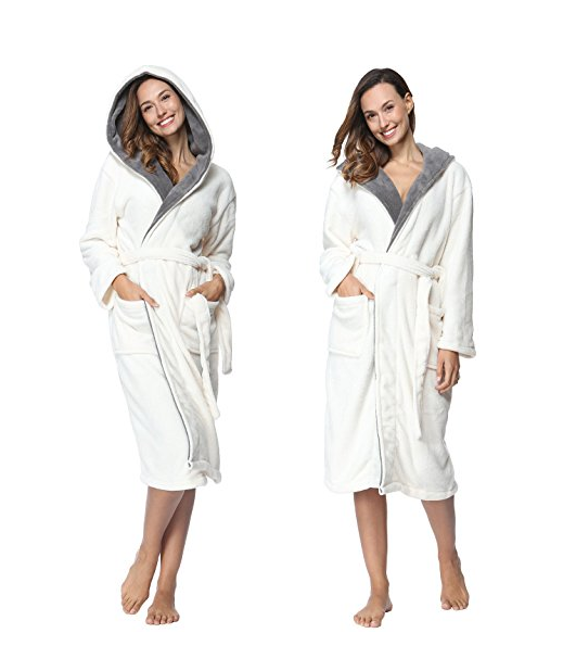 Hotel Victoria's Secret Sexy Women's White Color Soft Spa Bathrobe
